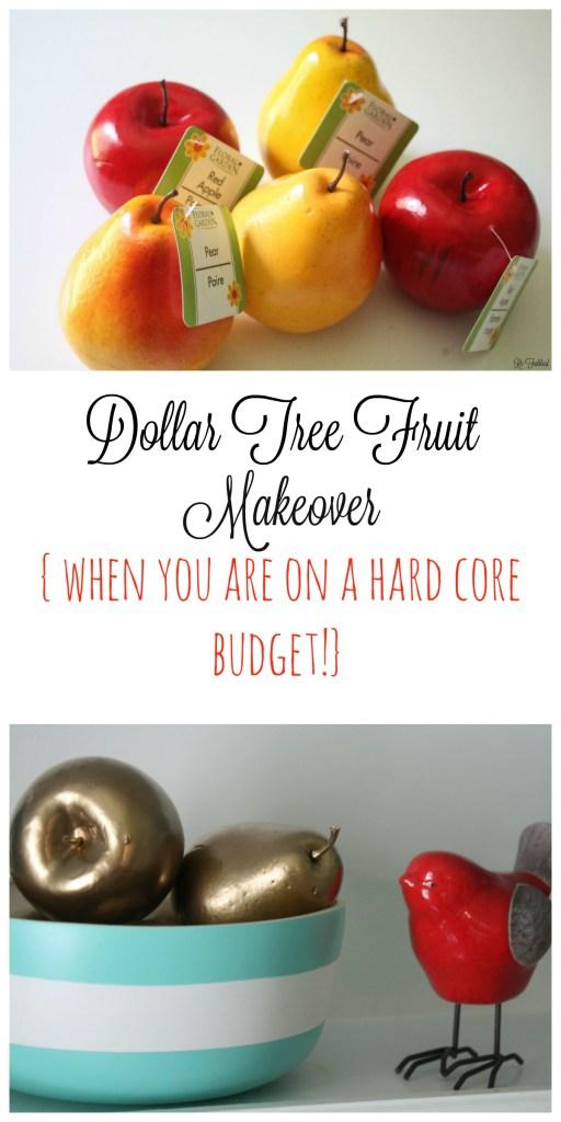 Dollar Tree Fruit Collage