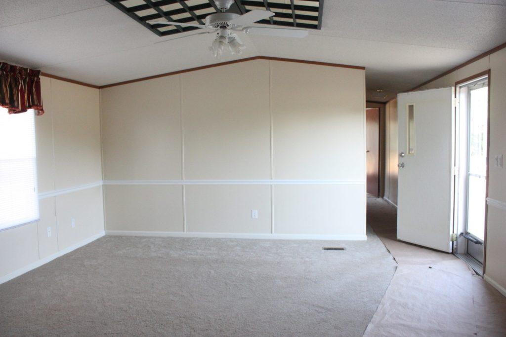 Trailer Living Room Before