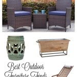 Best Outdoor Furniture and Accents for Under $300