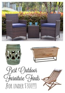 Outdoor Furniture Under $300