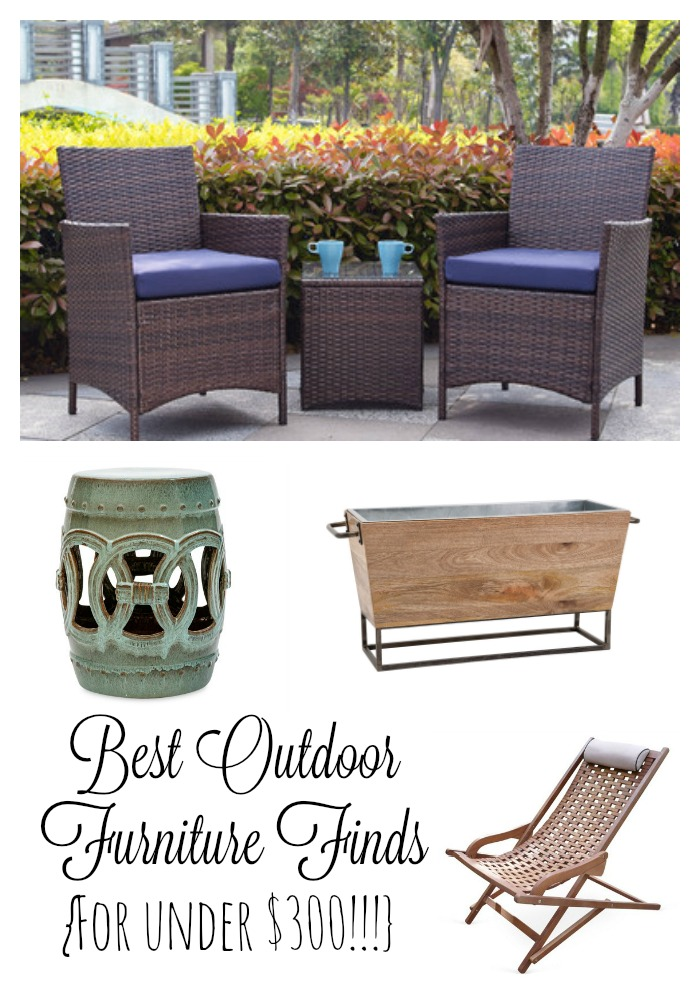 Outdoor Furniture Finds