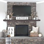 Get Your Fall On {Gorgeous Fall Mantels}