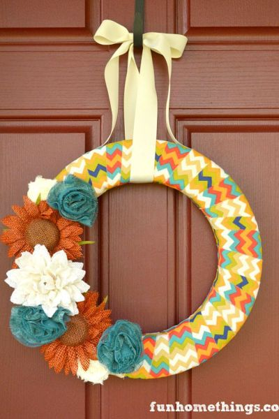 Easy DIY Fall Wreaths