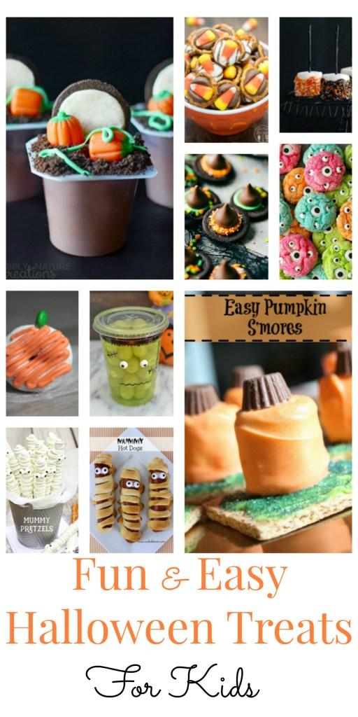 11 Fun and Easy Halloween Treats for Kids