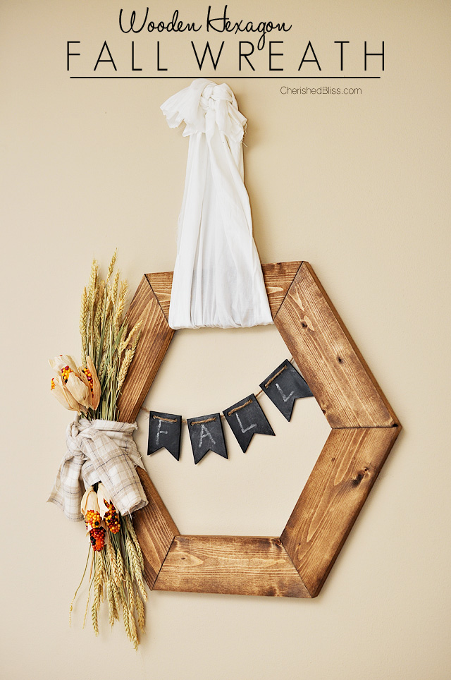 Hexagon Fall Wreath