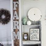 3 Minute DIY Farmhouse Sign