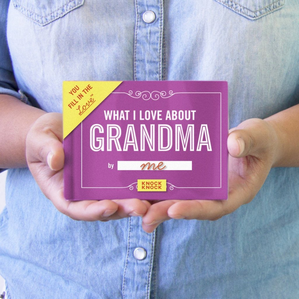 What I Love about Grandma book