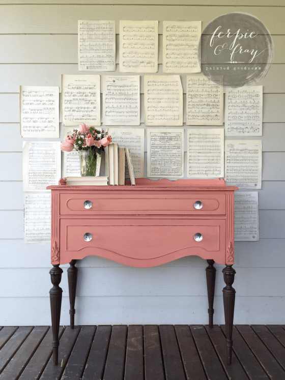 Apron Springs Mini Buffet Makeover