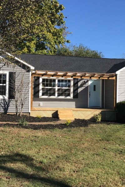 Cottage Charmer Exterior Before and After