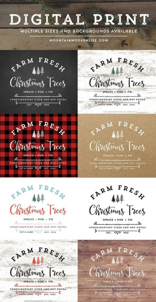 Farmhouse Christmas Inspiration that will make you swoon and want to decorate your entire house in this amazing style!