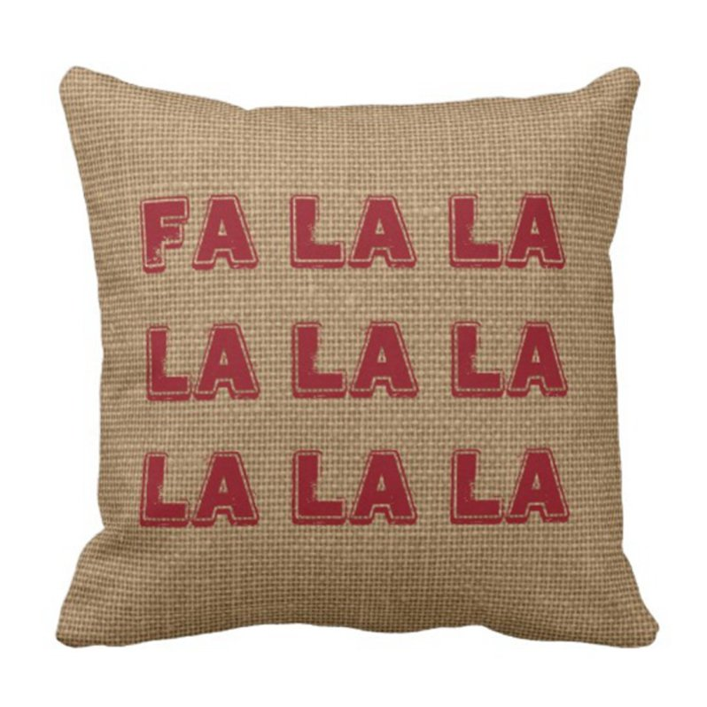 Farmhouse Christmas Pillow Covers on a Budget!