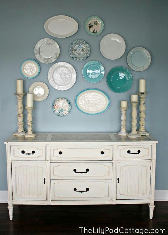 Gorgeous plate wall inspiration for your home!