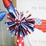 DIY Spindle Fireworks