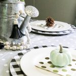 Mini Fall Tablescape on a Budget
