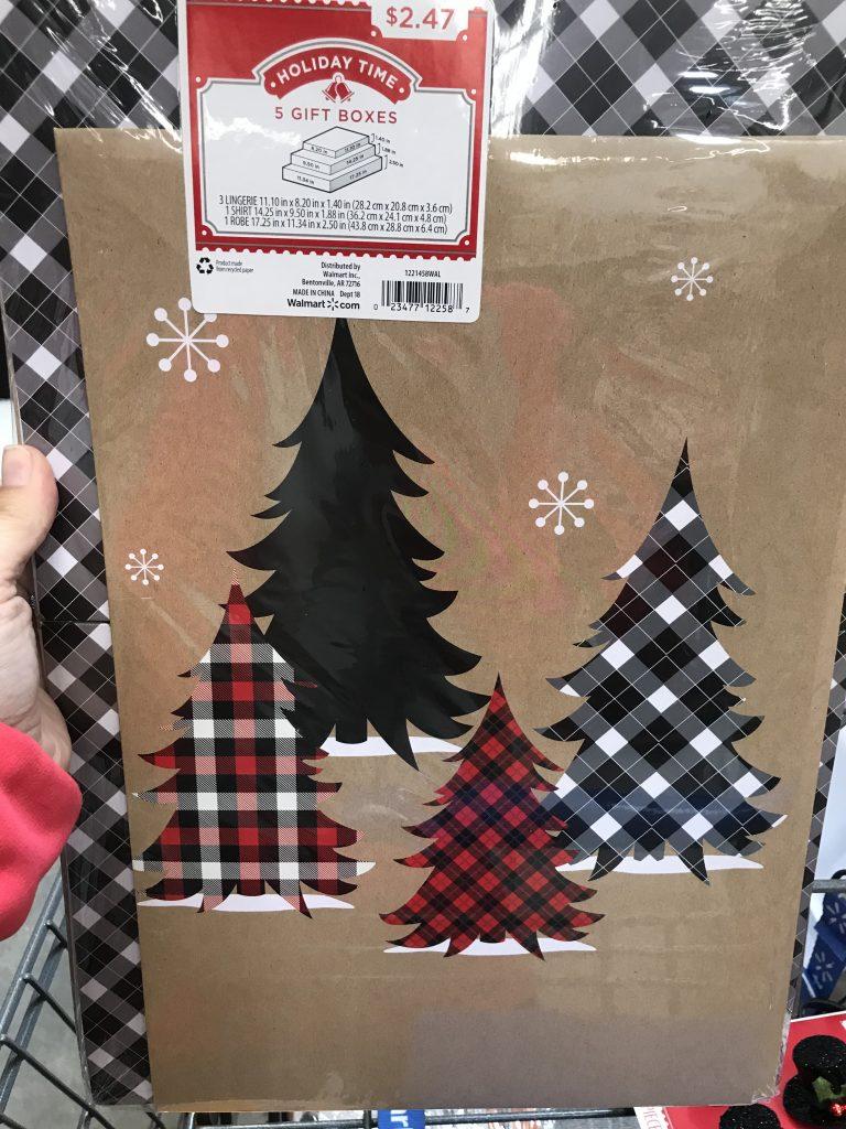 Make super cute and fun Christmas decor with a Christmas box!