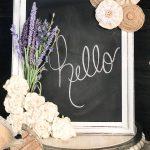 DIY Dollar Store Chalkboard Makeover