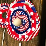 Patriotic Fabric Flowers