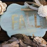 Dollar Store Fall Sign