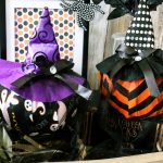 Dollar Tree Witches Hat Pumpkins