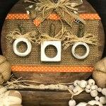 Napkin Ring Pumpkins