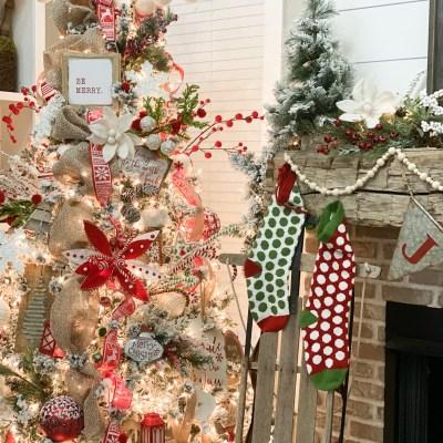 Christmas Home Tour- Living Room Tree