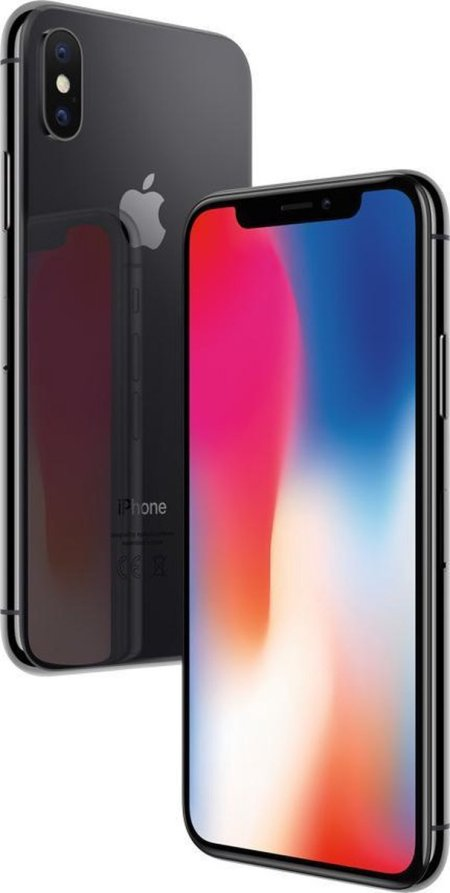 refurbished iphone x 64GB zwart