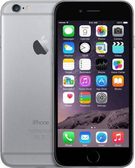 Refurbished Apple iPhone 6 - 16 GB - Spacegrijs