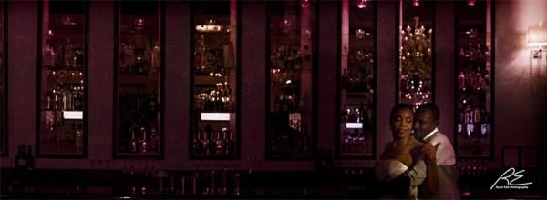 Romantic Bar at View Wedding