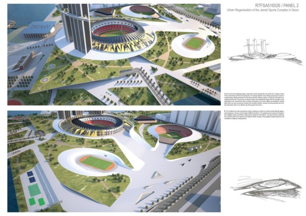 Jamsil Sports Hub in Seoul (2)