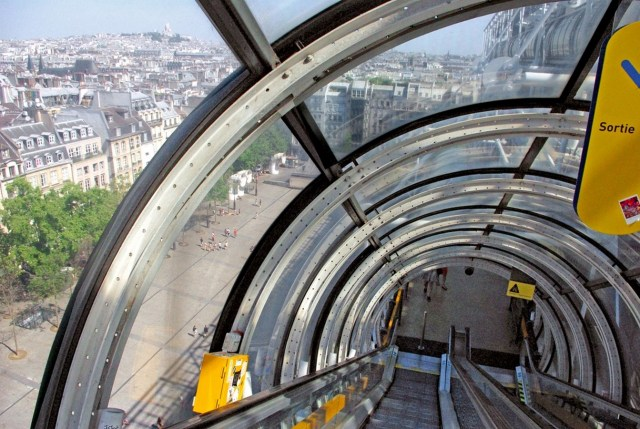 Pompidou Center by Renzo Piano and Richard Rogers