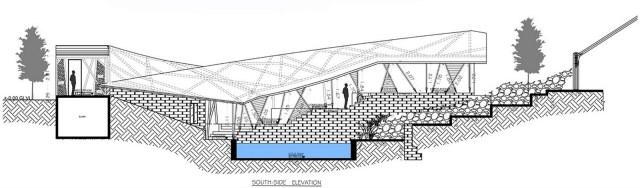 Bamboo Symphony by Manasaram Architects - Section