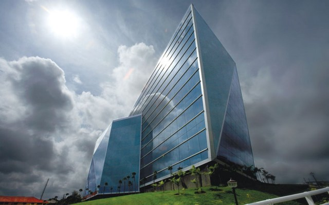 Unique Building- Software Development Block, Infosys by Hafeez Contractor