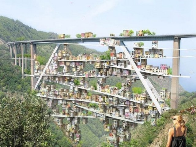 10 Examples of Parasitic Architecture around the World