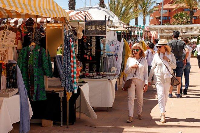 Market Stalls Sotogrande