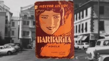 Barbarita Novel 1929 Hector Licudi