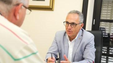 Juan Lozano presidente de la Mancomunidad Fabian Picardo