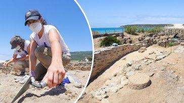 Baelo Claudia Roman Ruins, Tarifa, Salting Factory, Recuperando Garum