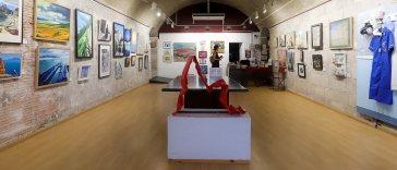 Our Gibraltar exhibition 2020 fine arts gallery gino sanguinetti