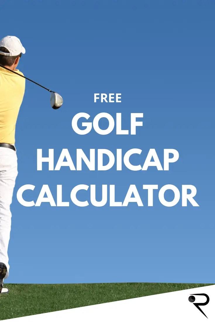 Golf Handicap Calculator (Free!) - Calculate Your USGA Index