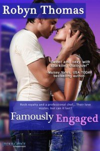 ARC Review…Famously Engaged by Robyn Thomas