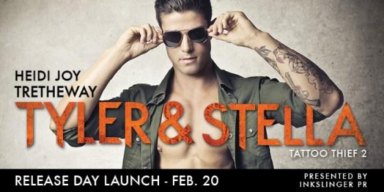 Tyler & Stella release day banner