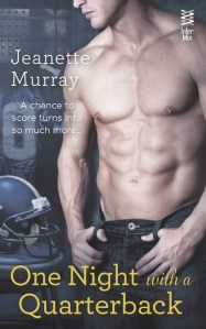 One Night With a Quarterback by Jeanette Murray….Giveaway and Book Spotlight