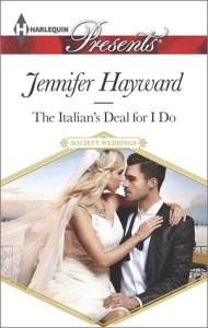 Giveaway….Signed Paperback Copies of The Italian's Deal For I Do by Jennifer Hayward