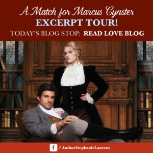 A Match For Marcus Cynster by Stephanie Laurens…Excerpt Tour Stop & Giveaway