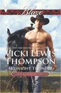 Harlequin June Spotlight: Q&A with Vicki Lewis Thompson, author of Midnight Thunder
