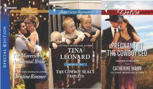 Harlequin July Spotlight & Giveaway with Christine Rimmer, Tina Leonard, & Catherine Mann