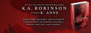 Ultimate Temptation (Book one of the Temptations Series) by K.A. Robinson….Blog Tour & Review