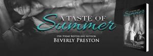 a taste of of summer banner