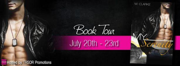 my serenity book tour