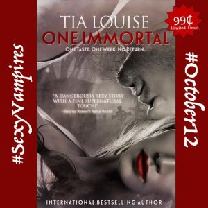 One Immortal by Tia Louise… Release Day Blitz & Review
